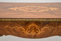 Antique Victorian Marquetry Top Console Table (9 of 12)