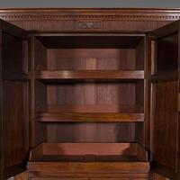 Antique Gentleman's Wardrobe, Walnut, Compactum, Waring & Gillow, Victorian (7 of 12)