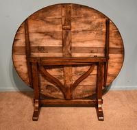 French Provincial Poplar Fruitwood Vondage Dining Table (3 of 4)