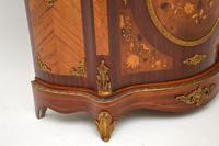Antique French Inlaid Marquetry  Marble Top Cabinet (3 of 12)