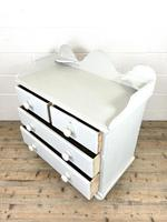 Painted Victorian Pine Chest of Drawers (8 of 10)