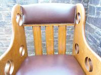Pair of Arts & Crafts Chairs - Goodyers (6 of 9)