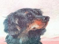 """19th Century Oil Painting Sporting """"Game Dogs"""" Signed Robert Cleminson (27 of 48)"""