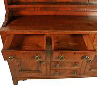 Georgian Oak Dresser & Rack (6 of 8)