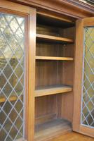 Arts & Crafts Howard & Sons Oak Bookcase (12 of 13)