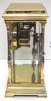 Awesome Antique French Champlevé Ormolu Bronze 8 Day Striking Mantel Clock c.1880 (11 of 13)