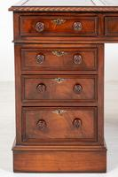 Quality Victorian Mahogany Partners Desk (4 of 9)