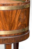 Early 20th Century Oval Mahogany Wine Cooler (2 of 2)