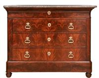 Louis Philippe Mahogany Commode / Chest of Drawers c.1895 (2 of 4)