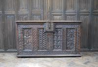 Antique Gothic French Coffer (2 of 7)