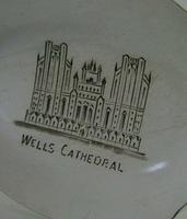 Rare Wells Cathedral Antique Sterling Silver Souvenir Jam Spoon 1910 Edwardian (6 of 7)