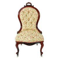 Victorian Rosewood Ladies Chair (2 of 8)