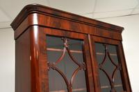 Antique French Walnut Bookcase on Cupboard (9 of 11)