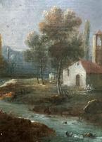 **Near Inverary** 18th Century Thomas Gainsborough Period Landscape Oil Painting (11 of 13)