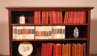 Mahogany Open Bookcase - England c.1900 (3 of 11)