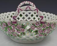 Fine Large Chelsea Red Anchor Porcelain Basket c.1750-1758 (18 of 18)