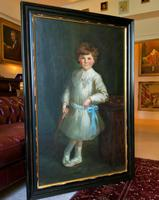 Gilbert Baldry (1876-1928) A Large Exceptional Edwardian Oil Portrait Painting (2 of 14)