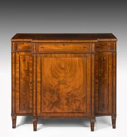 Regency Period Mahogany Breakfront Side Cabinet (6 of 6)