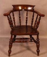 Set of 4 Victorian Captains Chairs (5 of 7)
