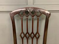 Set of 8 Mahogany Chippendale Style Dining Chairs (10 of 13)