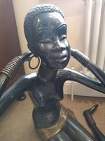 Bronze African Nubian Princess (2 of 7)