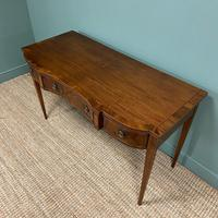 Victorian Mahogany Antique Console Table (9 of 9)