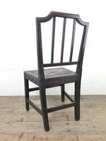 Pair of Antique Carved Oak Hall Chairs (13 of 13)