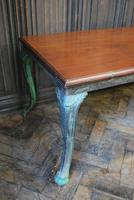 Antique French iron coffee table (5 of 6)