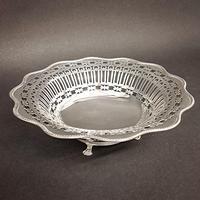 George V Silver Pierced Bowl (2 of 4)
