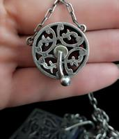 Victorian Sterling Silver Chatelaine (17 of 17)