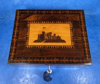William IV Early Mosaic Tunbridge Ware Table Box (13 of 20)