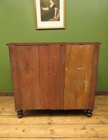 Antique Painted Black Chest of Drawers (9 of 16)