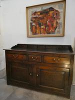 English 18th Century Oak Dresser with Spice Drawers