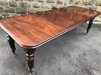 Antique Mahogany Wind Out Extending Dining Table (10 of 12)