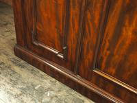 Victorian Mahogany 3 Door Wardrobe (6 of 8)