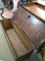 18th Century Oak Coffer (4 of 5)