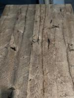 Large Rustic Bleached Oak Farmhouse Refectory Dining Table (6 of 25)