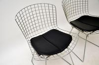 Pair of Vintage Wire Chairs by Harry Bertoia (7 of 10)