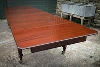 Very Good Late Georgian Extending Dining Table Seats 14/16 (5 of 21)