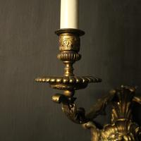 French 19th Century Bronze Bacchus Antique Wall Sconces (5 of 10)