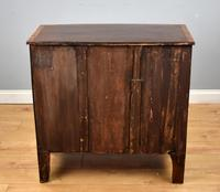 19th Century Regency Mahogany Bow Front Chest of Drawers (5 of 7)