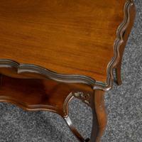 Edwardian Mahogany Window Table (4 of 8)