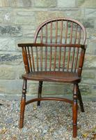 Antique Oak Windsor Chair (2 of 8)