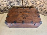 Military Campaign Trunk & Kit (2 of 10)