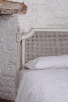 Pair of Painted Single Caned Low End Beds (7 of 7)