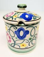 Honiton Pottery Jar 'Sweet Pea' 1930s