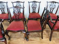 Set of Eight Oversized Dining Chairs (18 of 18)