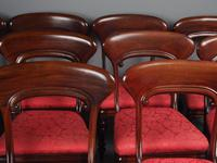 Set of 12 Scottish Mahogany Dining Chairs (14 of 18)