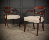 Set of 8 Regency Mahogany Dining Chairs (6 of 20)