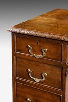 Early 20th Century Chippendale Design Mahogany Writing Table (5 of 8)
